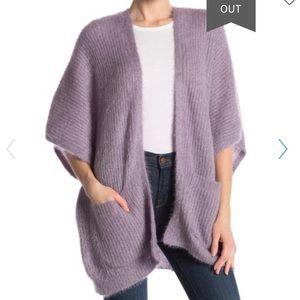 BCBGeneration metallic knit kimono